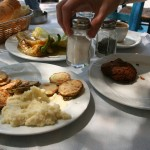 Lunch in Athens